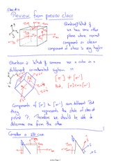 Class 4 Notes problems and solutions