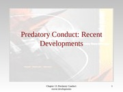 chapter 13 predatory conduct_recent developments