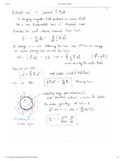 Induced E Field Notes