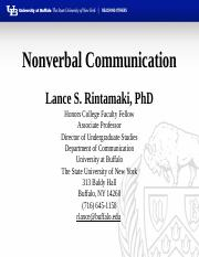 Nonverbal Communication - 2016(1).pptx