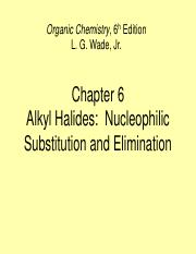 8. alkyl halides-part I