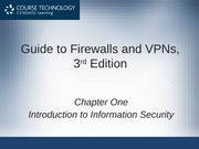 1.1 Introduction to Network Security
