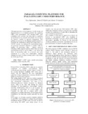 PARALLEL_COMPUTING_PLATFORM_ICSPC07