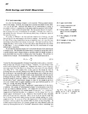 Feynman Physics Lectures V2 Ch27 1963-01-21 Field Energy and Momentum