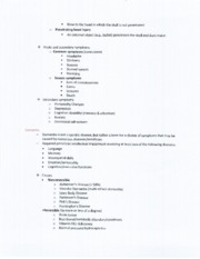 SPA 4104 Dementia and Language Disorders Notes