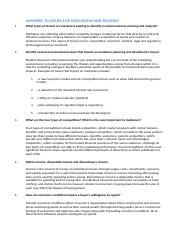 Answers to issues for Discussion and Review.docx