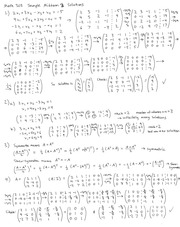 Math303SampleMidterm3Solutions
