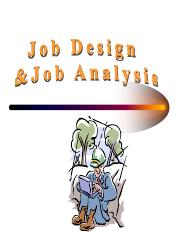 Job Design & Analysis