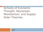 Schools of Economic Thought_revised