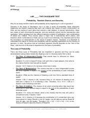 chi4.pdf - Pogil Answer Key Biology Chi Square Free ...