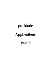 7 pn Diode Applications - Part 3
