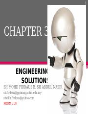 MEC 100 CHAPTER 3 (Engineering Solution)