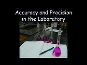 Accuracy and Precision Lab
