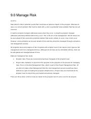 Project Management_Controlling Phase_Risk Management