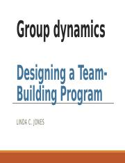 Chapter 6 Designing a Team-Building Program.pptx