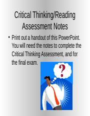 Critical.thinking.assessment.preparation