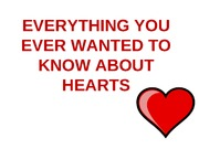 Everything about hearts