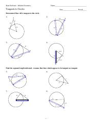 Worksheet by Kuta Software LLC Solve for x Assume that - GEOMETRY - 1