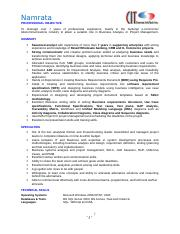 Namrata- BA resume Awesome Resume 07242009.doc