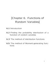 Chapter6 class notes