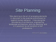 Site.ppt-Topic 3