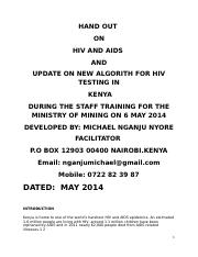 HIV_AND_AIDS_NOTES_FOR_STAFF_SEMINAR_MINISTRY_OF_MINING[1]