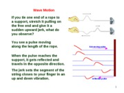 Lesson 5.2a Wave Motion