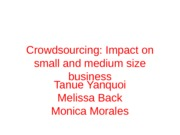 Crowdsourcing Presentation (E-Marketing)