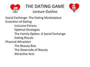 Dating: Lecture Notes