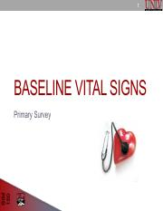 3 Initial Assessment and Baseline Vitals