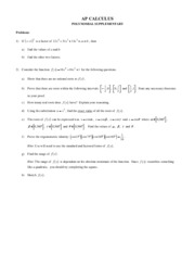 POLYNOMIAL PROBLEMS+