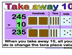 Minus 10- Maths Strategies