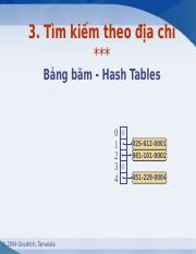 Lectures 14 Hash tables.ppt