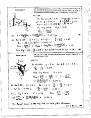 135_Mechanics Homework Mechanics of Materials Solution