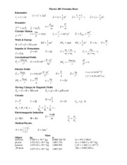 Circular motion Worksheet - Physics 40S Circular Motion Problems 1 ...