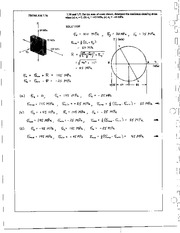 823_Mechanics Homework Mechanics of Materials Solution