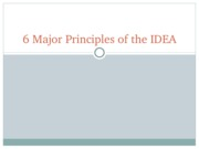 6_Major_Principles_of_the_IDEA