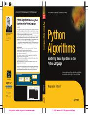 Apress-Python Algorithms - Mastering Basic Algorithms in the Python Language.pdf