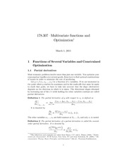 03_Multivariate_Functions_and_Optimization