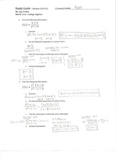 math1314_studyguide_answers