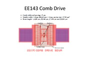 EE143_Comb_Drive_pictures