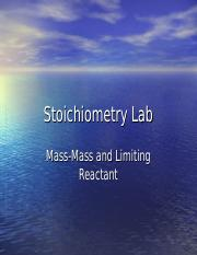 Stoichiometry Lab.ppt