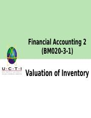 Ch4-Valuation of inventory.ppt
