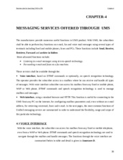 Unified Messeging Service MS Thesis Chapter 4