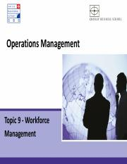 topic 9 - Workforce management.pdf
