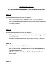 SPE 3300 Group Project Information.docx