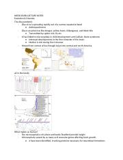 WEEK SEVEN LECTURE NOTES