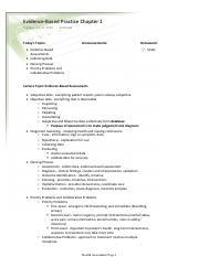 NUR 2092 : health assessment - Rasmussen College - Course Hero