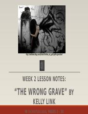 EAC666 Week 2 lesson_The Wrong Grave(1).pptx