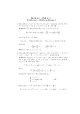 2006 Fall - Midterm 2 - Solutions